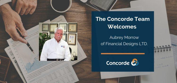 welcome aubrey morrow concorde